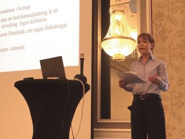 Cecilia Asklöf föreläser om diskriminering